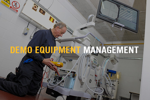 Demo Equipment Management - Rhenus Lupprians