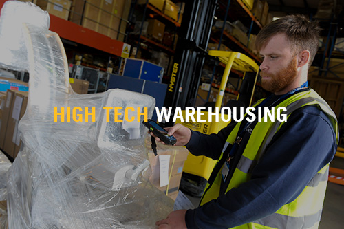 High Tech Warehousing - Rhenus Lupprians